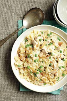 Creamy Chicken and Pea Pasta