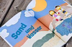 """Eingesetzt werden die Smilos in den themenbezogenen Kapiteltrennern wie """"Sand und Wasser"""", """"Rutschen"""", ... Napkins, Tableware, Water, Kids, Dinnerware, Towels, Dinner Napkins, Tablewares, Dishes"""