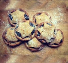 Mince pies - from Honesty Healthy and will give them a try. Gluten and dairy free