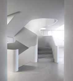 OLS House by J. Mayer H. Treppen Stairs Escaleras repinned by www.smg-treppen.de