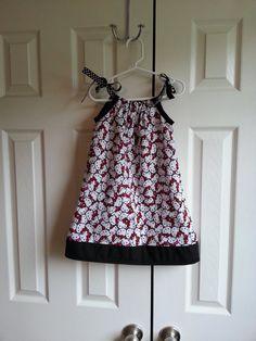 Hello Kitty Pillowcase Dress by RompersAndRibbons on Etsy, $30.00