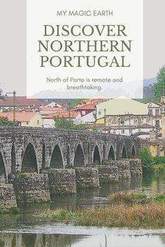 North of Porto is remote and breathtaking. The day trip includes Ponte de Lima, TUI, a Spanish border town, Valenca, and Amorosa Beach (near Anha) #portugal #europe #village #destination #adventure #porto #city #adventuretime #traveltips #travelblog #places #travellife#Porto #portugal #daytrips #portwine #oldtown #葡萄牙 #europe #traveltips #travelblogger #destination #weekendtrip #roadtrip #thingstodo #familywithkids #familytravel Weekend Trips, Day Trips, Porto City, Portugal Travel Guide, European Travel Tips, Visit Portugal, Travel Abroad, Cool Places To Visit, Family Travel