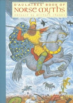 D'Aulaires' Book of Norse Myths by Ingri d'Aulaire, http://www.amazon.com/dp/159017125X/ref=cm_sw_r_pi_dp_x7Ubqb0A0ZRV9