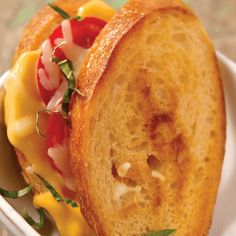 Grilled Cheese Margherita   Recipes   Spoonful