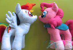 DIY Rainbow Dash Plush