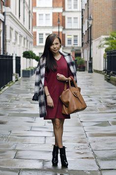 state of sunday, personal style, ganni dress, asos coat, meli melo bag