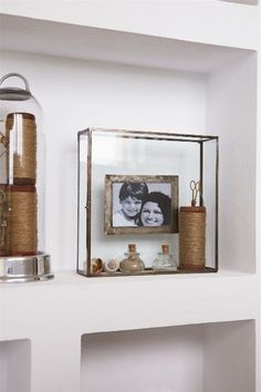 French Glass Photo Box 15x10