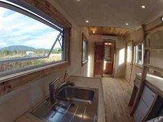"""Tiny """"Chemical Free"""" House on a Trailer"""