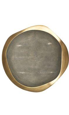 R & Y Augousti Shagreen Medium Bowl