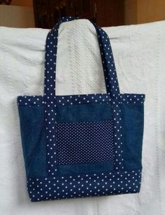 Best 12 Embroidered denim bag Jeans bag with ribbons embroidered Recycled fabric sac Summer floral purse Shoulder bagful Eco friendly tote bag Denim Tote Bags, Denim Purse, Canvas Tote Bags, Patchwork Bags, Quilted Bag, Denim Patchwork, Patchwork Quilting, Bag Quilt, Bag Patterns To Sew