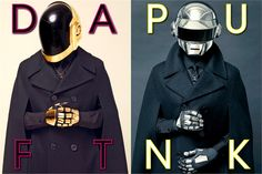 Daft Punk. The Daft Punk on the cover of the July-August 2013 issue of L'Uomo Vogue.