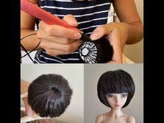 парик для куклы MiniFee своими руками с помощью 3D ручки - YouTube