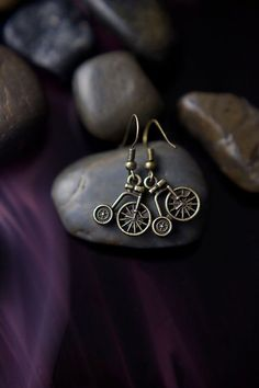 890d47c95086 Little Bicycle earrings. Fun for summer.  -) Mommy Necklace