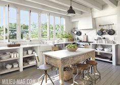 image result for Eleanor Cummings kitchen in Texas farmhouse