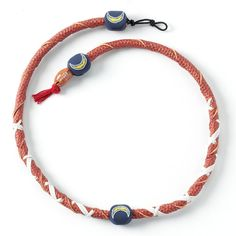 San Diego Chargers Leather Necklace, Teens, multicolor
