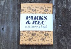 if you really love me, you will buy me this.  Parks and Rec - A Colouring Book. $11.00,