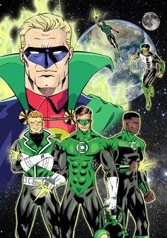Green Lantern - 75 years : la couleur