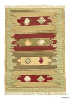 Turkish Modern Kilim wool