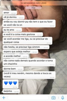 Acordar com uma mensagem dessa n tem palavras vc se sente especial ❤ Cute Text Messages, Cute Phrases, Unrequited Love, Love Text, Cute Texts, Memes Status, Frases Tumblr, Maybe One Day, Relationship Goals