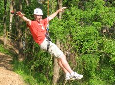 Terrapin Adventures: Zip Line, high ropes, giant swing and climbing tower.