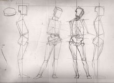 Human Figure Drawing Reference classical figure drawing and the contemporary realism of hedwardbrooks: Boxing in the Basic Volumes of the Figure, Basic Figure Structure Block-ins. Figure Drawing Tutorial, Male Figure Drawing, Figure Sketching, Figure Drawing Reference, Art Reference Poses, Drawing Tutorials, Anatomy Reference, Figure Drawings, Human Anatomy Drawing