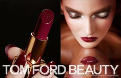 Ok I have a crush on Tom Ford. his brain turns me on! Smartologie: Tom Ford Beauty Fall 2013 Campaign - First Look Tom Ford Beauty, Beauty Ad, Beauty Trends, Tom Ford Makeup, Plum Lipstick, Red Lipsticks, Makeup Lipstick, Winter Makeup, Fall Makeup