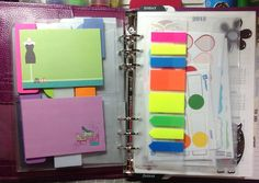 my tabs and post it notes!!