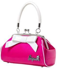 Purses And Handbags Fashion New Raspberry Pin Up Purse