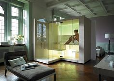 Shower and sauna in one solution!