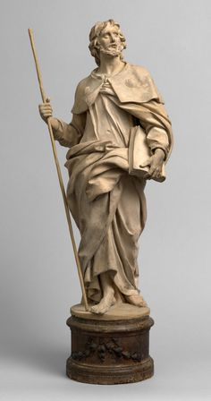 Attributed to G. LIRONI (1679 - 1749 approx.), St. James the greater, first half XVIII cent., terracotta, from BENJAMIN PROUST FINE ART LIMITED, London (UK) #flashbackfair #exhibitors #turin #flashback16 #thenewsyncretism #allartiscontemporary