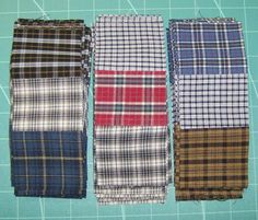 Life is a Stitch: Seven Shirts + Seven Steps = One Thrifty Quilt/dcc