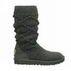 UGG Boots - Classic Argyle Knit - Grey - 5879 ugg Cyber Monday View More: www.yi5.org