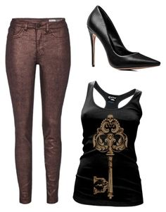 """""""Untitled #4589"""" by ania18018970 on Polyvore featuring Cartel Ink and Red Herring"""