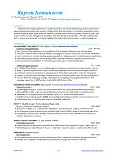Development Worker Sample Resume Pintareq Abdelqader On Visual Cv Examples  Pinterest  Cv .