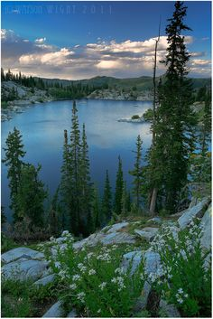 Lake Mary, Big Cottonwood Canyon, Utah.I want to go see this place one day.Please check out my website thanks. www.photopix.co.nz