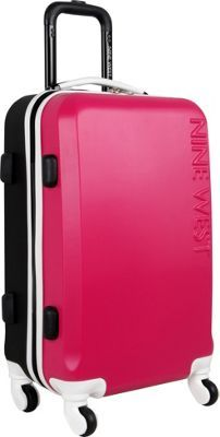 Nine West Luggage Fast Track 3 Piece Hardside Set PINK/BLACK - via ...