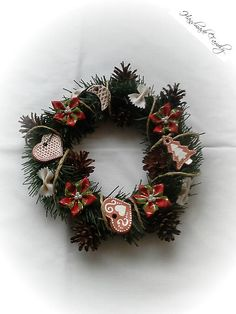 HandmadeFamily / Vianočný veniec .....tradičný