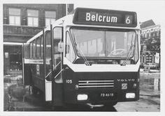 Bus van BBA met nummer 105 (lijn 6 Belcrum)