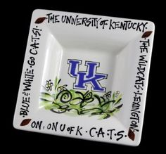 Magnolia Lane Pottery serving bowl, University of Kentucky - this website has the best pricing on Magnolia Lane pottery for UK Wildcats! Thry got a new website...www.teamzokee.com. check it out!!