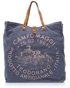 wardow.com -#campomaggi, Lavaggio Stone Teodorano Shopper jeans 40 cm