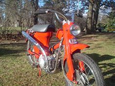 Remember The 60's? 1966 Honda CT200 - http://barnfinds.com/remember-the-60s-1966-honda-ct200/