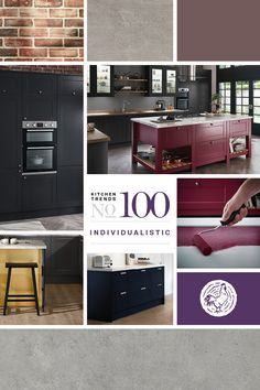 Get inspiration for your new kitchen from Howdens' kitchen trends guides, highlighting the key looks and styles. Free design service at every depot nationwide. Kitchen Design Trends 2018, Latest Kitchen Trends, Howdens Kitchens, What's Trending, Joinery, Own Home, New Kitchen, Service Design, Free Design