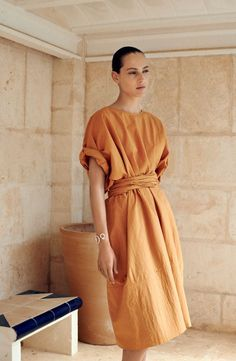Once again Hermès has teamed up with photographer Zoe Ghertner, stylist Camille B Waddington and model Othilia Simon.