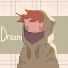 My Dream Team, Just Dream, Character Art, Character Design, Emo, Arte Do Kawaii, Dream Friends, Minecraft Fan Art, Dream Art