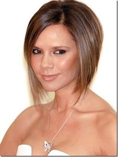 cortes pelo cortos mujeres victoria+beckham cortes de pelo cortos para caras redondas
