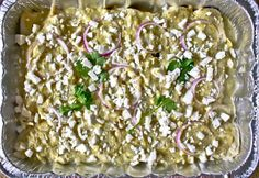 Sparrows & Spatulas: Tomatillo-Sauced Enchiladas with Spinach and Mushrooms (To Go!)