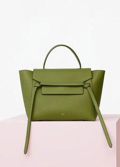 5920b344a85c Mini Belt Bag in Almond Baby Grained Calfskin - Céline Celine Bag 2017