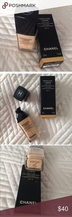 🆕Chanel foundation New Chanel foundation, tone beige 40 Chanel Makeup Foundation