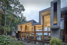Ridge House | Marko Simcic & Brian Broster | Pender Island, British Columbia, Canada.