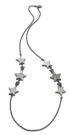 Marc by Marc Jacobs Long Shooting Star Necklace